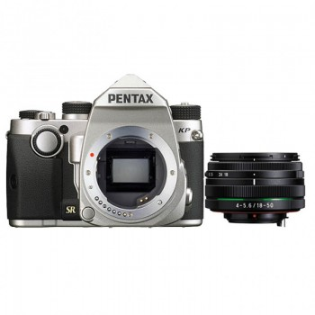 Pentax KP Silver + 18-50 RE